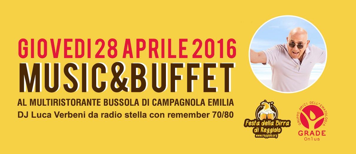 Music&Buffet @La Bussola a Campagnola