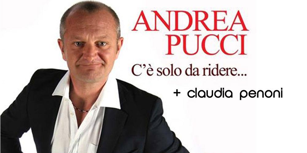Andrea Pucci + Claudia Penoni stasera Sabato 18 giugno!